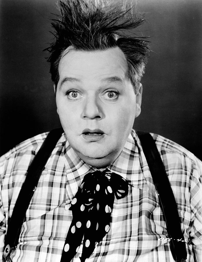 Roscoe Fatty Arbuckle Photograph  - Roscoe Fatty Arbuckle Fine Art Print
