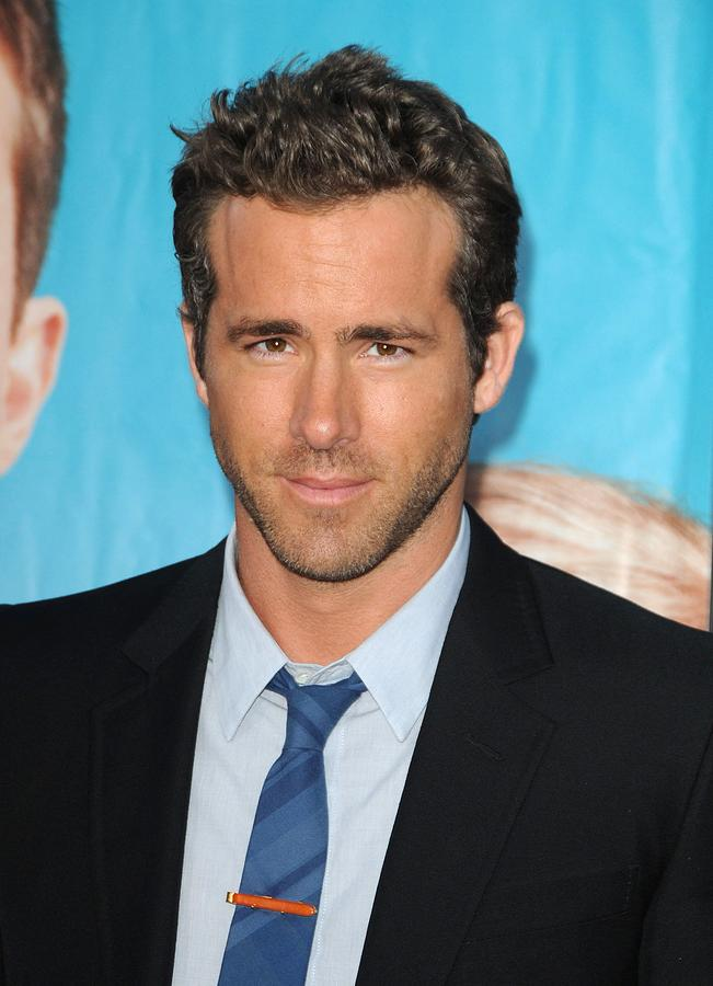 Ryan Reynolds At Arrivals For The Photograph  - Ryan Reynolds At Arrivals For The Fine Art Print
