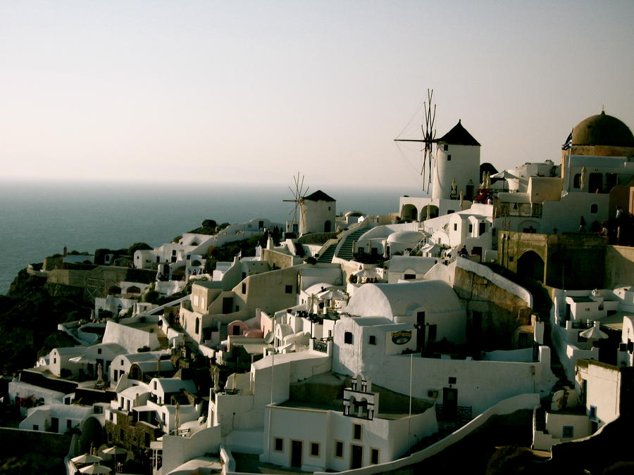 Santorini Photograph  - Santorini Fine Art Print