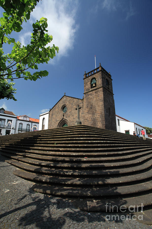 Sao Miguel Arcanjo Church Photograph  - Sao Miguel Arcanjo Church Fine Art Print