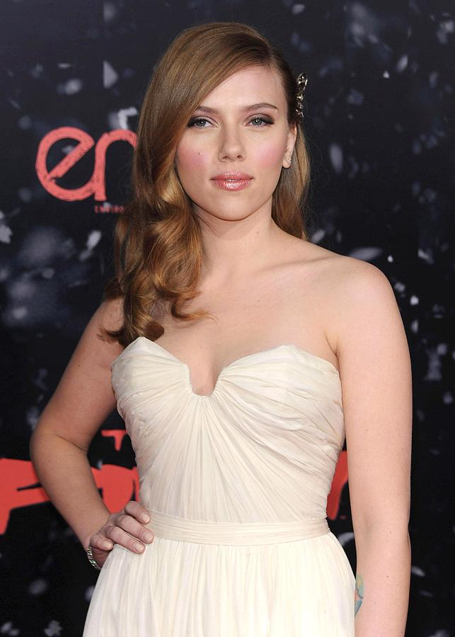 Scarlett Johansson At Arrivals Photograph  - Scarlett Johansson At Arrivals Fine Art Print