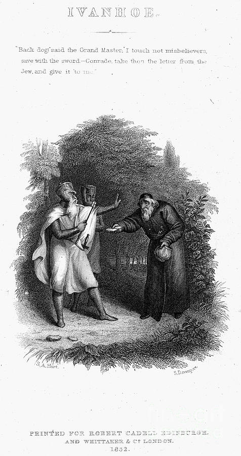 Scott: Ivanhoe, 1832 Photograph
