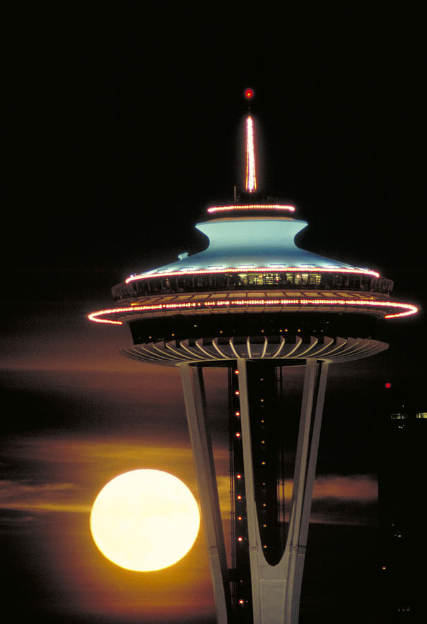 seattle space needle by greg west