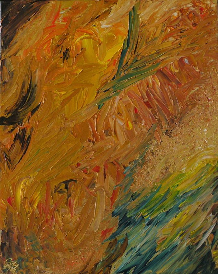 Abstract Painting - See What You See by Christine Martin