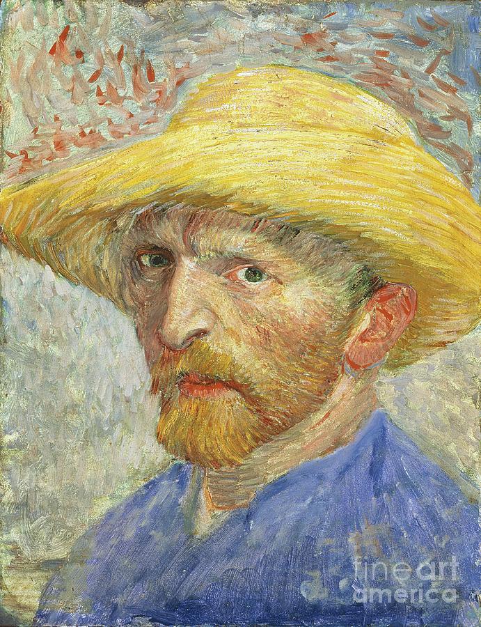 Self Painting - Self Portrait by Vincent van Gogh