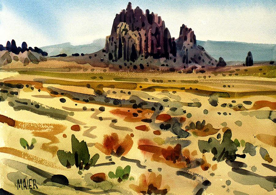 Shiprock Painting