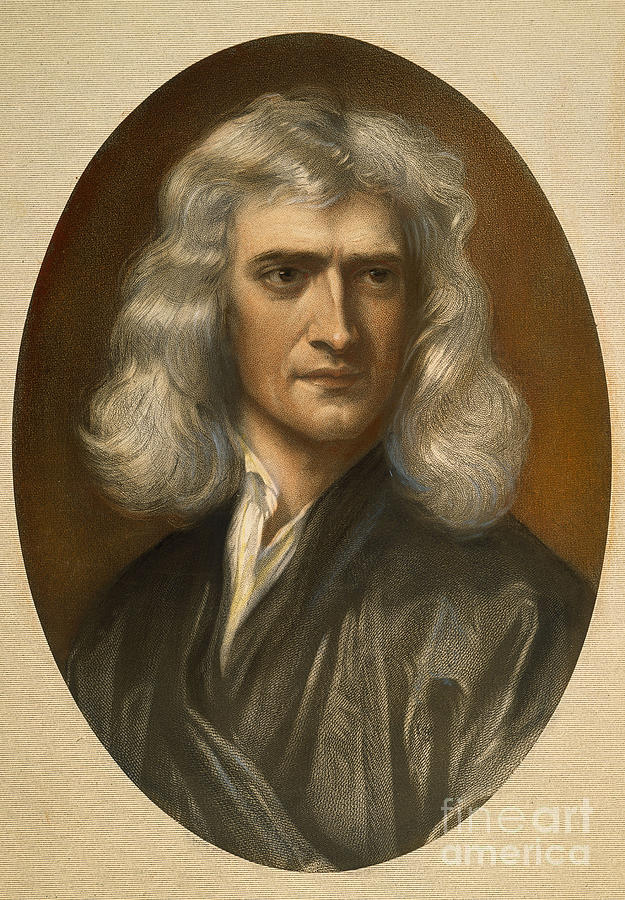 Sir isaac newton 1642 1727 photograph