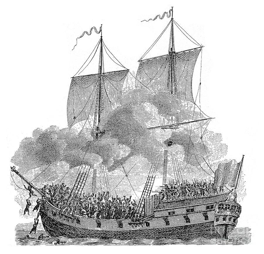 Slavery: Slave Ship Photograph