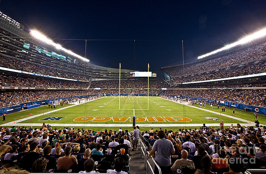 Soldier Field Chicago Photograph  - Soldier Field Chicago Fine Art Print