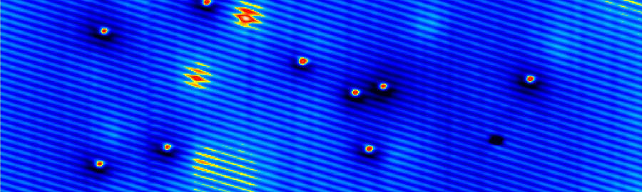Manganese Photograph - Spintronics Research, Stm by Drs A. Yazdani & D.j. Hornbaker