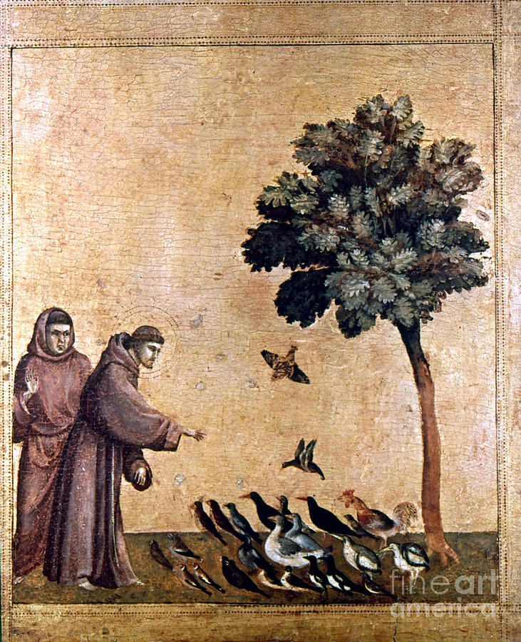 St. Francis Of Assisi Painting