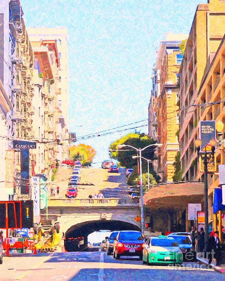 Stockton Street Tunnel In San Francisco Photograph