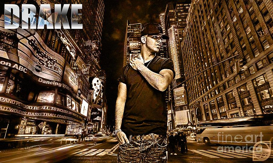 Street Phenomenon Drake Digital Art