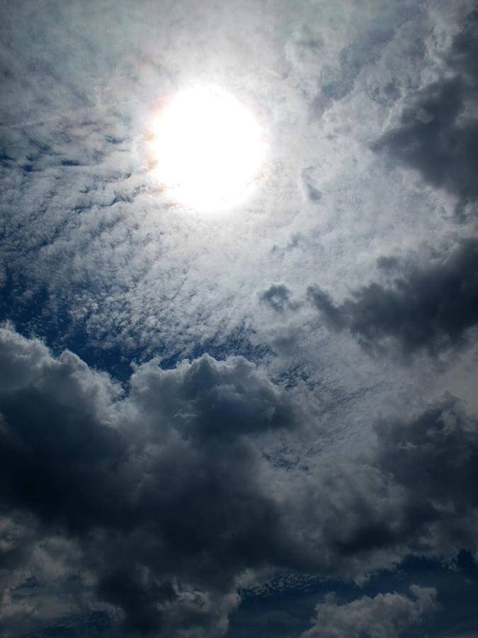 Sun And Clouds Photograph