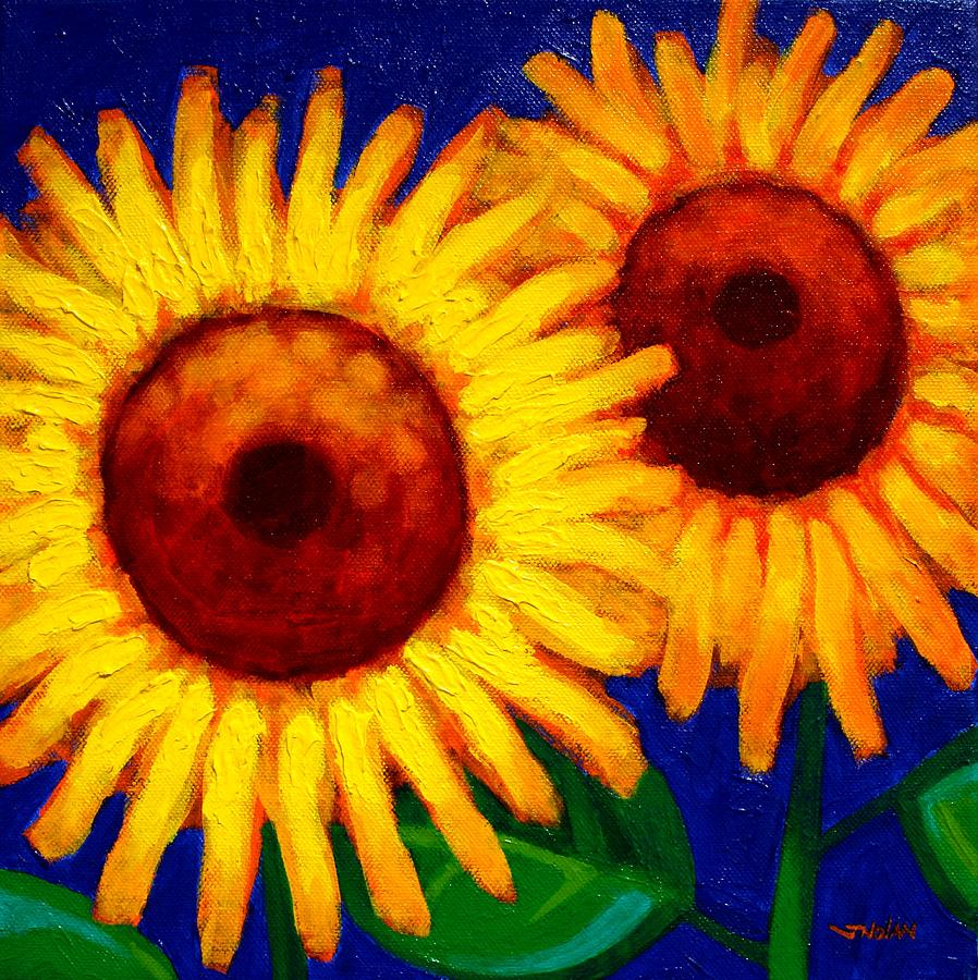 Sunflower Duet  Painting