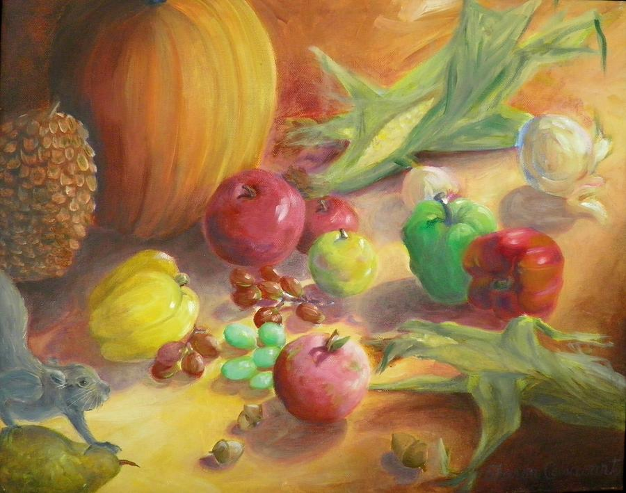 Sunlit Harvest Painting