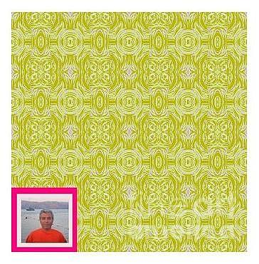 Surface Pattern Design Tapestry - Textile