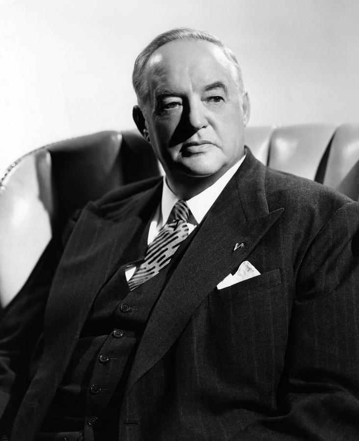 Sydney Greenstreet, Ca. 1940s Photograph by Everett