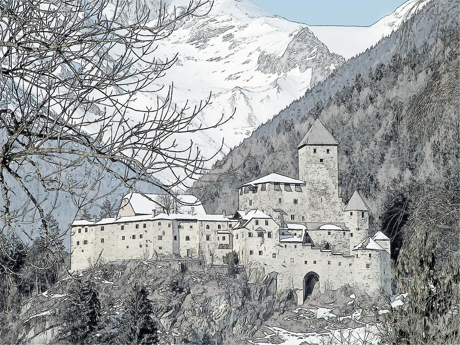 Taufers Knights Castle Valle Aurina Italy Photograph  - Taufers Knights Castle Valle Aurina Italy Fine Art Print