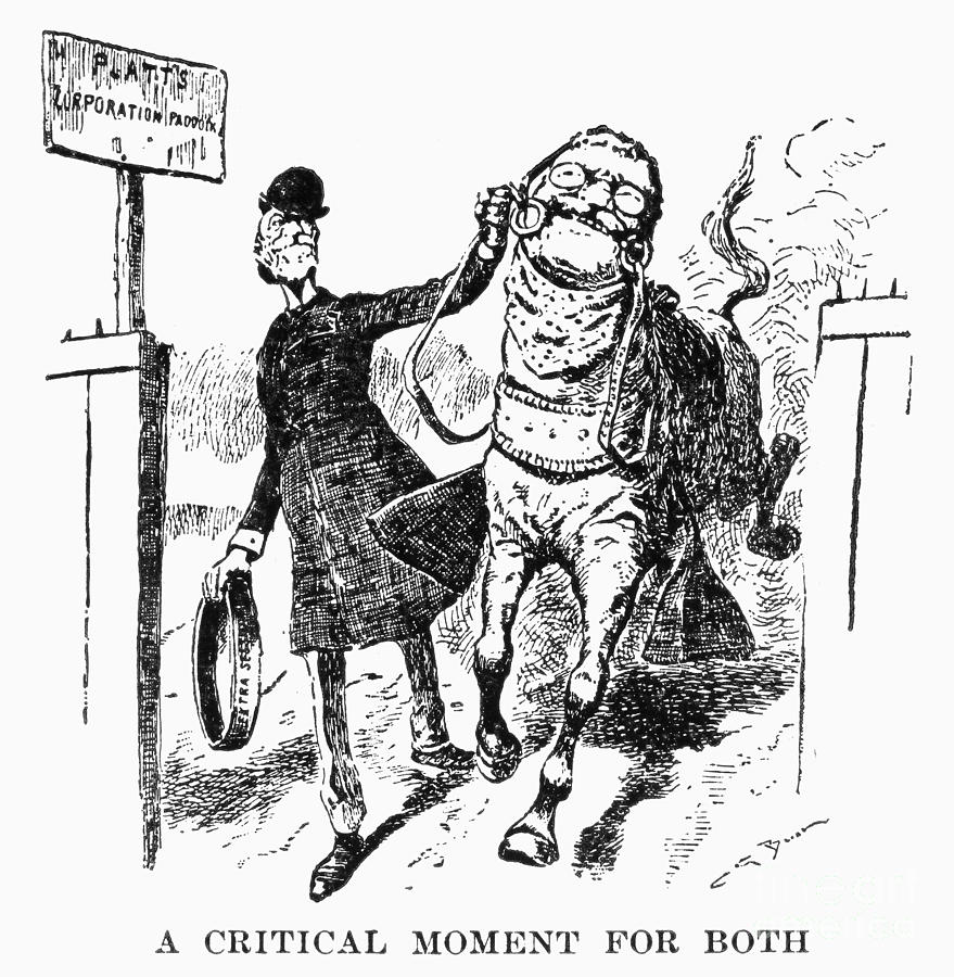 Teddy Roosevelt Cartoon Photograph