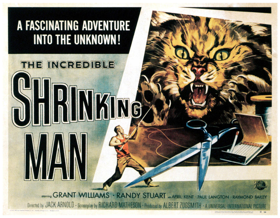1950s Poster Art Photograph - The Incredible Shrinking Man, 1957 by Everett