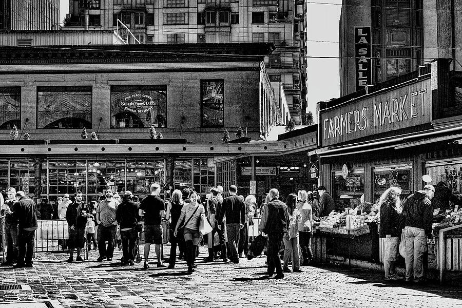 The Market At Pike Place Photograph  - The Market At Pike Place Fine Art Print