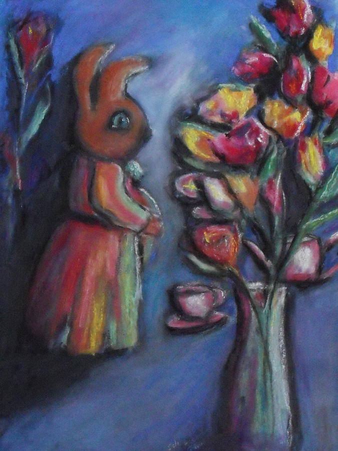 The Visitors Pastel