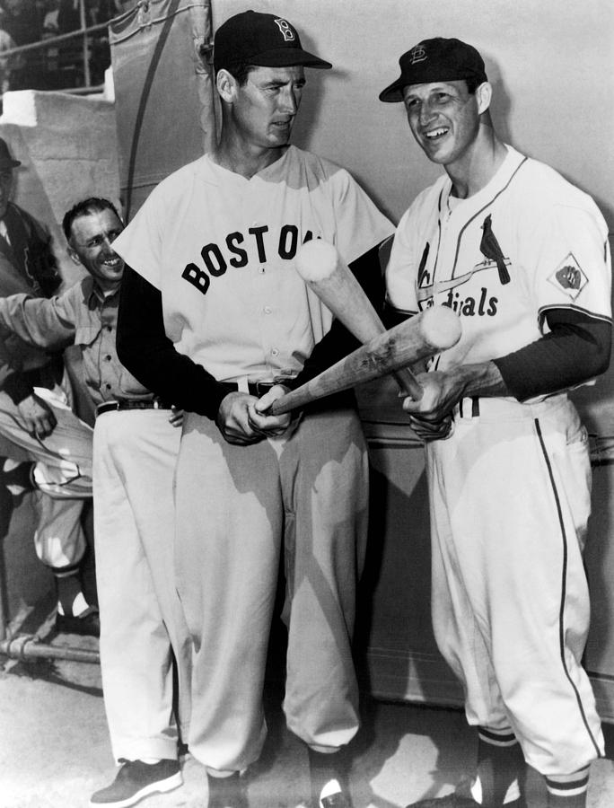 Top Sluggers. Ted Williams Photograph  - Top Sluggers. Ted Williams Fine Art Print