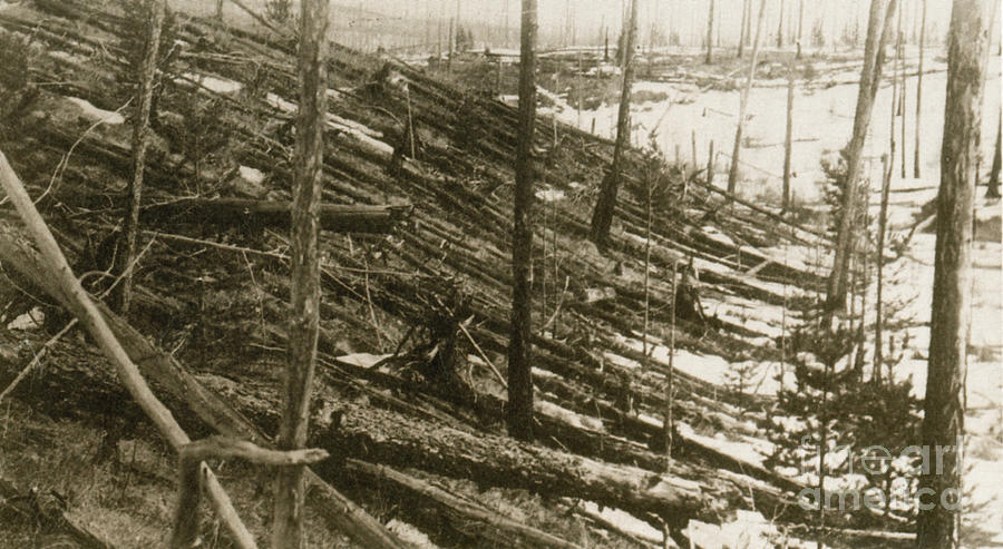 tunguska explosion Discover tunguska event epicenter in evenkiysky district, russia: site of the largest impact event to occur over land in earth's recorded history.