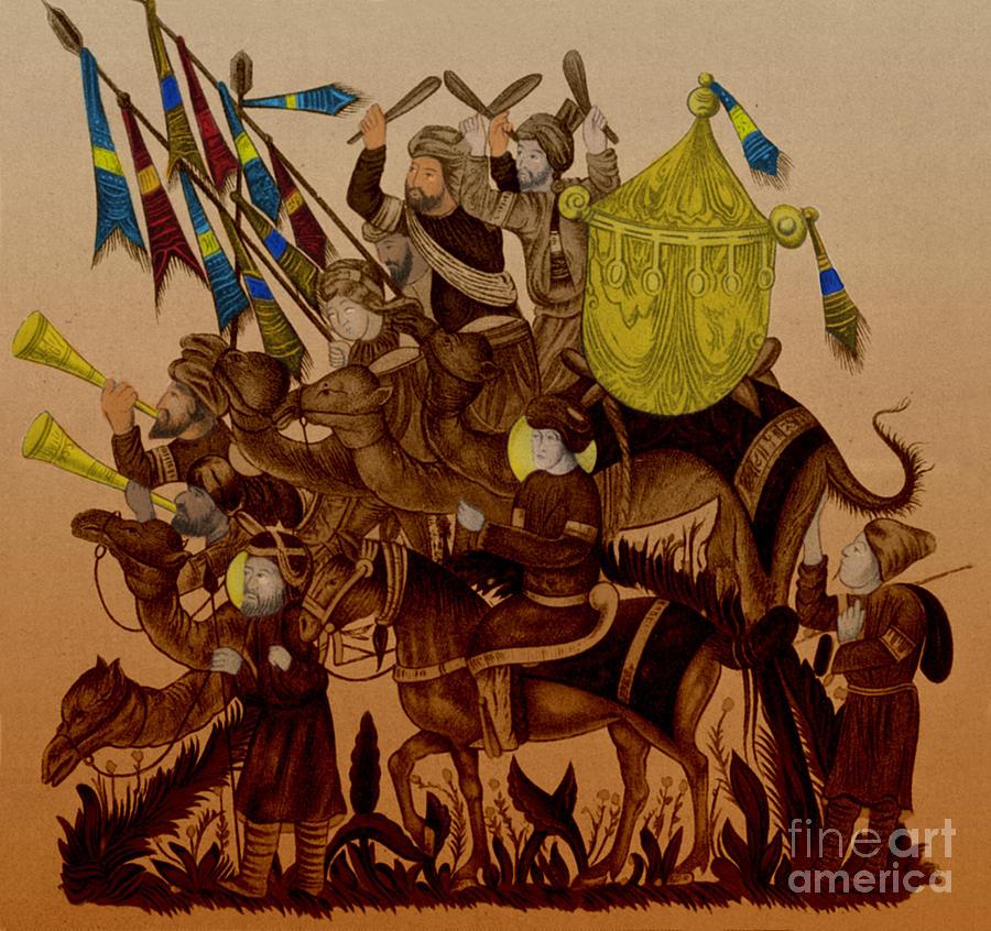 Turkish Muslims The Crusades Photograph