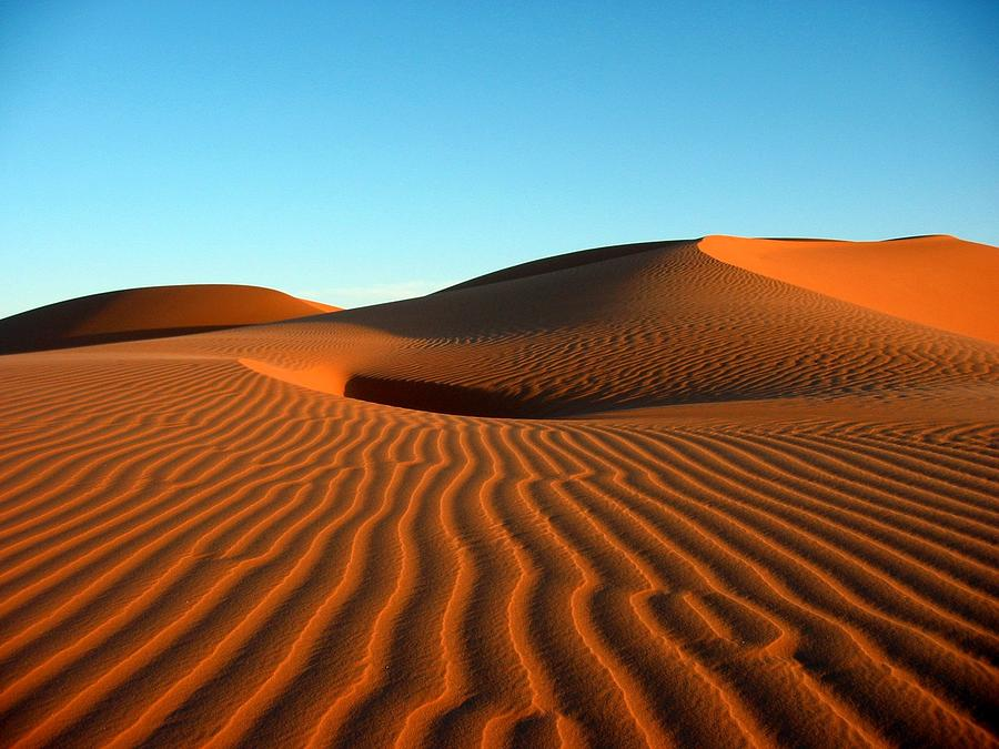 Ubari Sand Sea, Libya Photograph