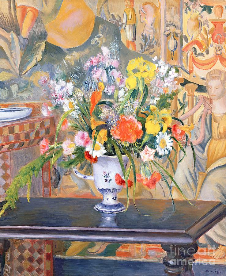 Vase Of Flowers Painting