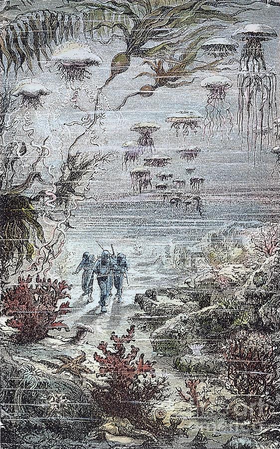 Verne: 20,000 Leagues, 1870 Photograph