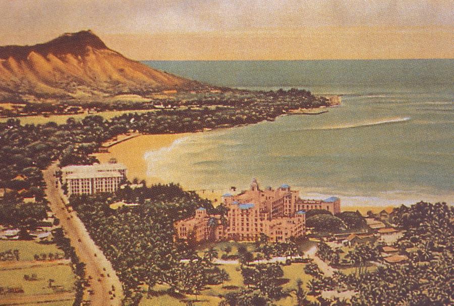 Hawaiian Vintage Art 35
