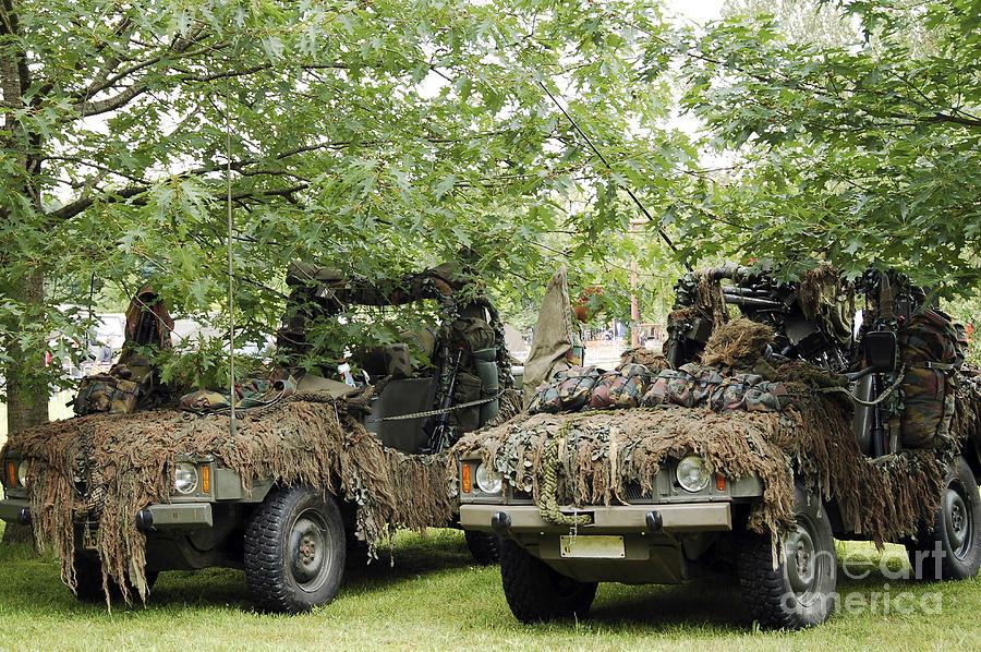 Belgium Photograph - Vw Iltis Jeeps Used By Scout Or Recce by Luc De Jaeger