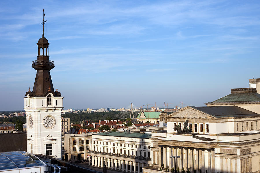 Warsaw Cityscape Photograph
