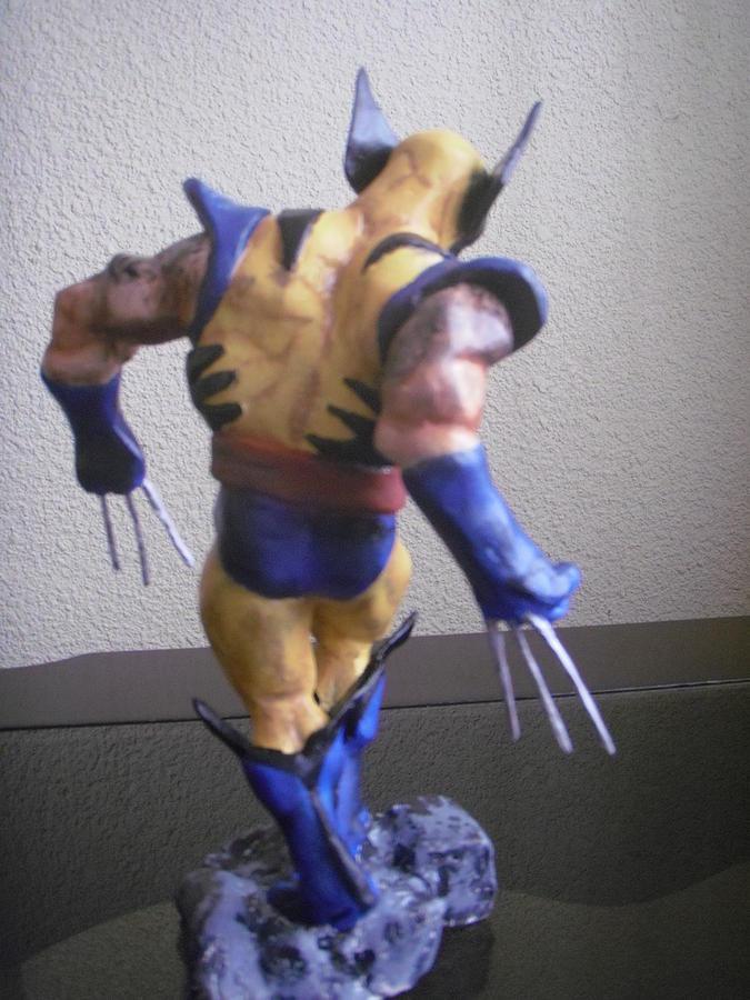 Wolverine Sculpture