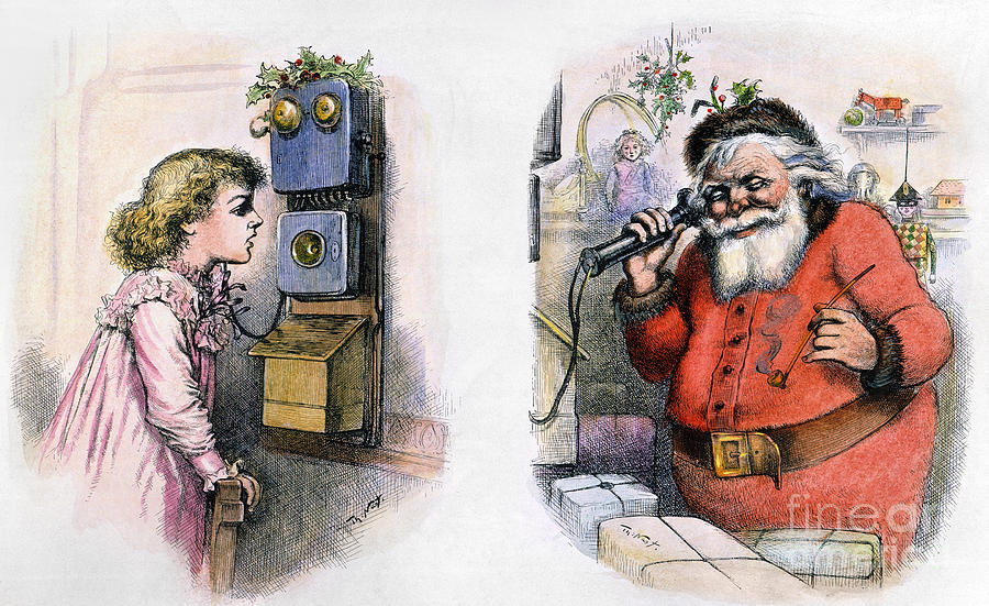 Thomas Nast: Santa Claus Photograph