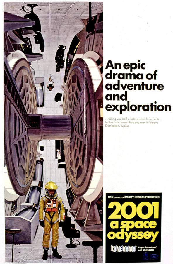 2001 A Space Odyssey, 1968 Photograph