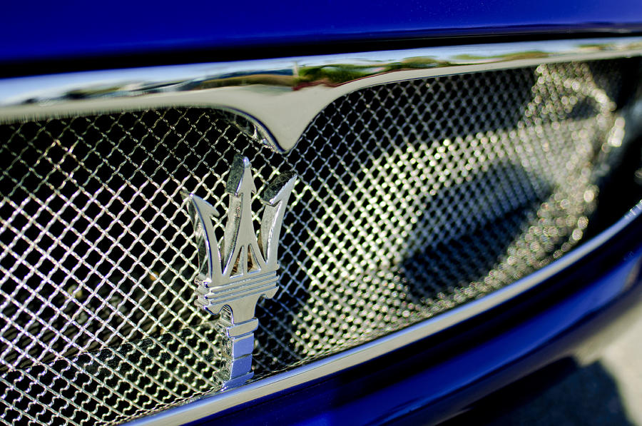 2002 Maserati Hood Ornament Photograph