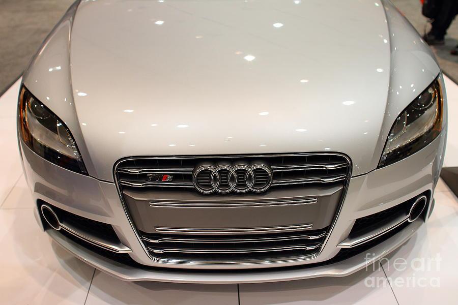 2012 Audi Tts . Silver . 7d9552 Photograph