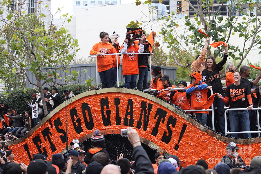 2012 San Francisco Giants World Series Champions Parade - Dpp0004 Photograph  - 2012 San Francisco Giants World Series Champions Parade - Dpp0004 Fine Art Print
