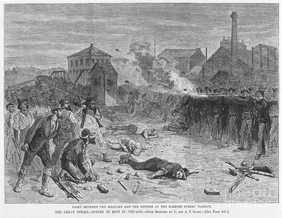 great railroad strike essay The great strike of 1877 essays on july 16, 1877, in martinsburg, west virginia began the great strike of 1877 on this day railroad workers for the baltimore & ohio railroad were informed of a ten percent wage cut this was the second cut like this in eight months after one train crew abandoned.