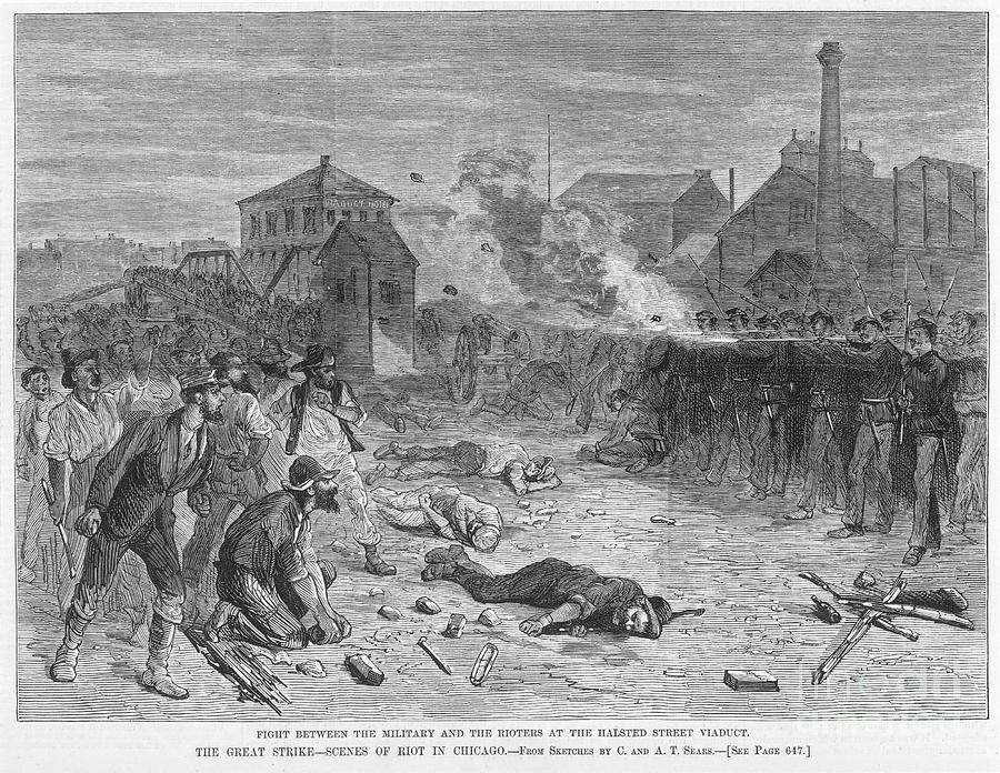 Great railroad strike 1877