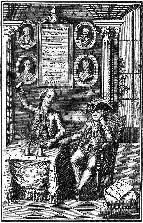 1789 Photograph - Louis Xvi (1754-1793) by Granger