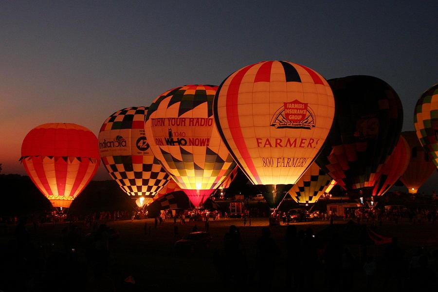 Balloon Photograph - Balloons by Rick Rauzi