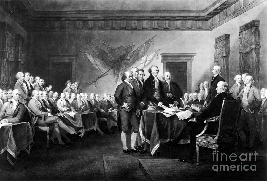 Declaration Of Independence Photograph