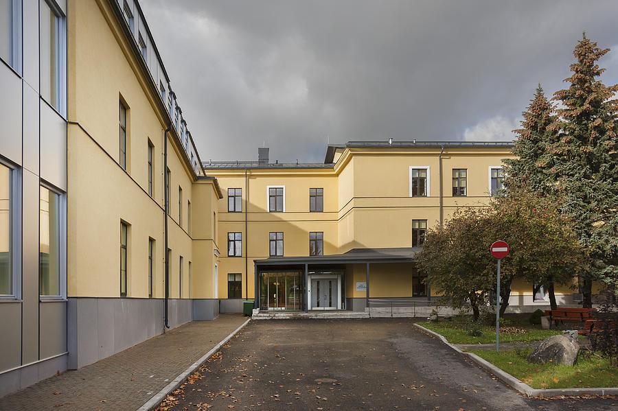 The Nursing Centre A Building In P�rnu Photograph
