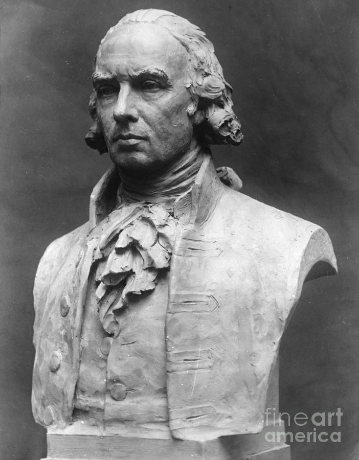 James Madison (1751-1836) Photograph  - James Madison (1751-1836) Fine Art Print