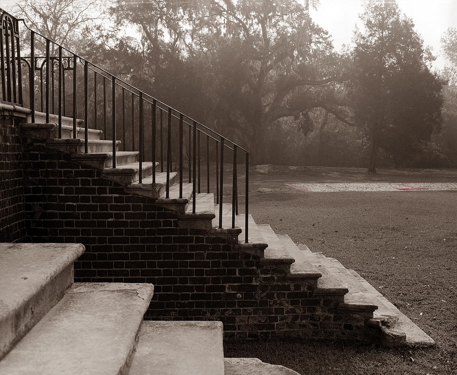 28 Up And Down Steps Photograph